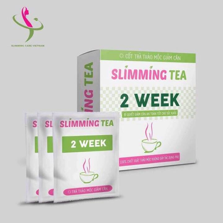 Có ai dùng trà thảo mộc giảm cân Slimming tea chưa