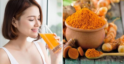 Bí quyết da trắng hồng tự nhiên với Curcumin có trong nghệ