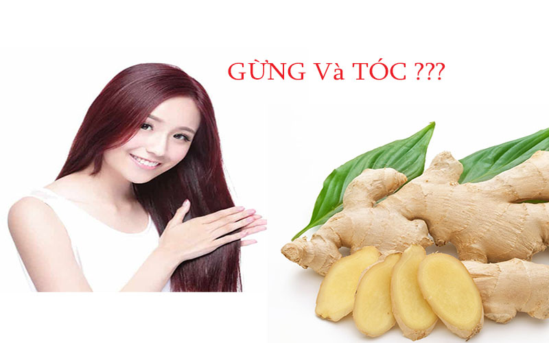 Chăm sóc tóc với gừng đơn giản mà hiệu quả - Bạn đã thử?